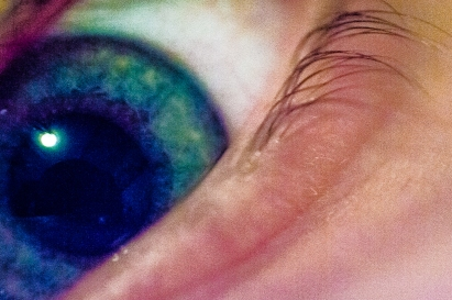 Eye Sea You- Blue/Green Detail of a Gorgeous Iris