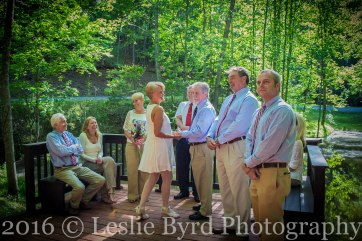Young Wedding| Wedding Photography | Leslie Byrd Photography, Ellijay, Georgia
