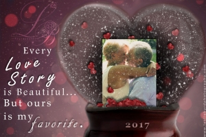 Valentine Heart Snow Globe| Leslie Byrd Photography| Ellijay Georgia| GA Photographer
