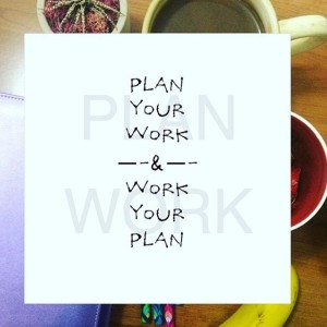 Plan Your Work & Work Your Plan| Blog| Instagram| Leslie Byrd Photography| Ellijay, GA
